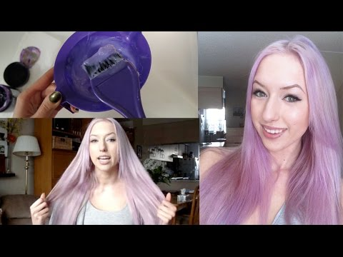 How to: Pastel Lilac Hair & When it Goes Wrong