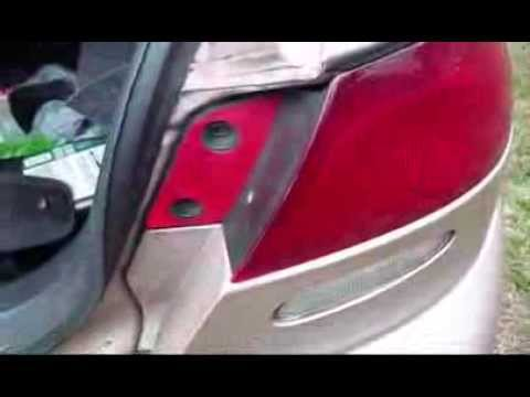 Replacing Brake Light Tail Light 98 Ford Excort