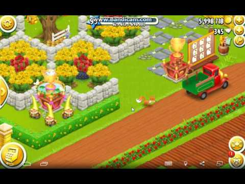 Hay Day Gameplay : My Fox Run Away