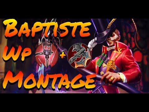 Vainglory - Baptiste |WP| MONTAGE [Best Baptiste Plays!]