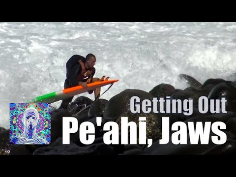 Getting out of Pe'ahi Jaws