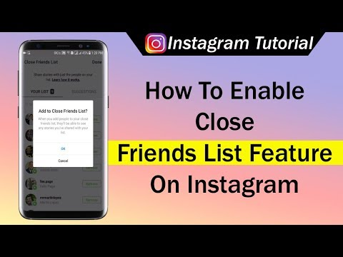 How To Enable Close Friends List Feature On Instagram