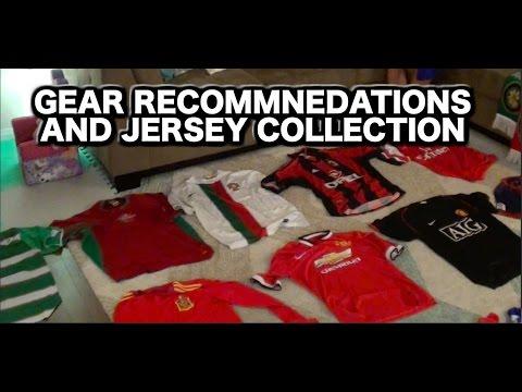 What's in my soccer bag? Soccer jerseys | Soccer Gear | Best Soccer Equipment for kids