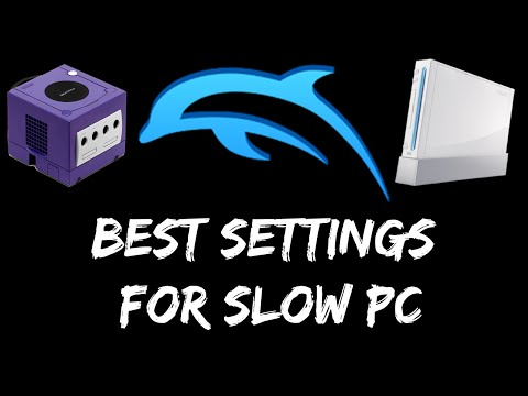 (2016) Best Settings for Dolphin Emulator on Slow PC