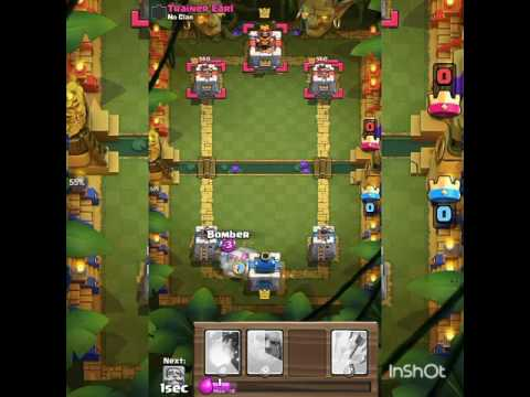 Jungle Arena Mod In Real Clash Royale