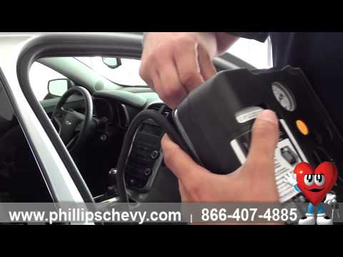 Changing Spare Tire on a Chevy Malibu with Inflator Kit – Phillips Chevrolet