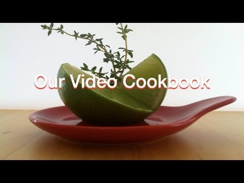 How to make Persian Lime Food Decoration | Our Video Cookbook #105