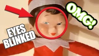 ELF ON THE SHELF caught moving on camera 🎄 TOP 5 🎄 Compilation 2017
