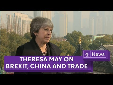 Theresa May on Brexit, China and trade (full interview)