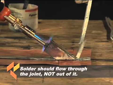 How-To: Flat Seam Soldered Joint