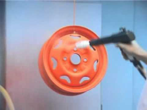 Powder Coating Machine -- Manual Powder Coating Machine, Light Weight Gun