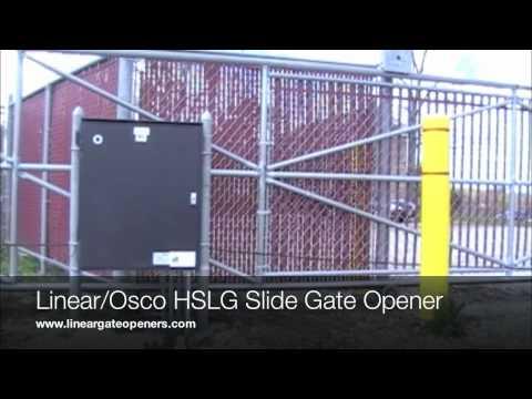 Linear/Osco HSLG Slide Gate Openers