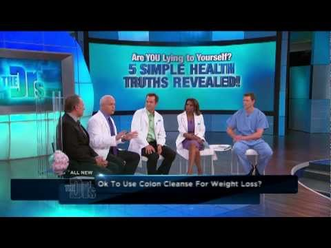 Does a colon cleanse help with losing weight? - Dr Jorge's Advice on The Doctors