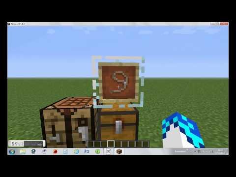 Minecraft Hoe Maak Je Een Leidtouw oftewel lasso?