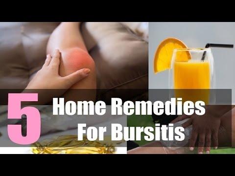 5 Home Remedies for Bursitis.