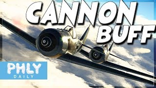 Cannon Buff  Cannons Actually Work War Thunder Air Rb Gameplay