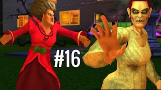 HALLOWEEN PARTY - Scary Teacher 3D Part 16   Funny Android Full Gameplay