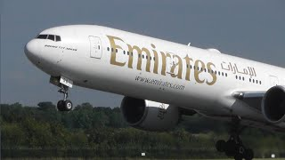 Plane Spotting At Manchester Airport - Rw23l Close-up Rotations!!!