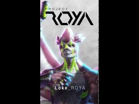 Project_ROYA - Loke - Motion Poster (Eevee Animation)