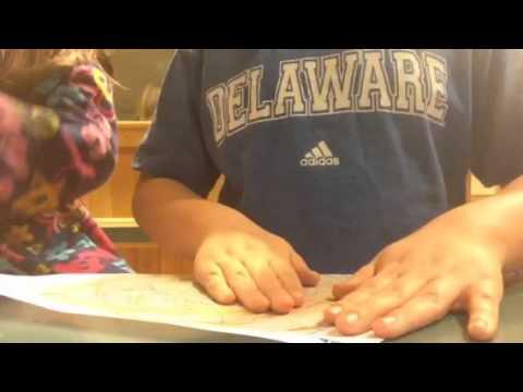 DIY' tie dye paper