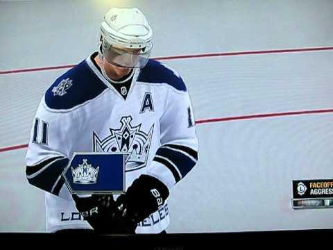 NHL 11 Be a GM Mode MN vs. LA OT