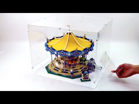 Display Case for Lego 10257 Carousel