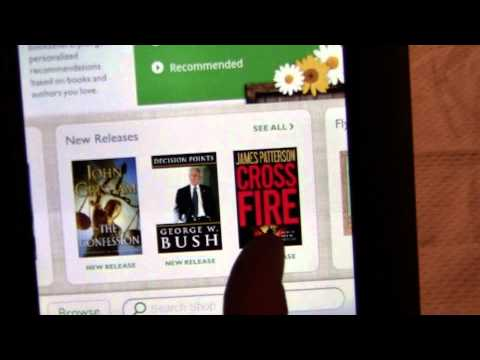 Barnes and Noble Nook Color e-Reader Review