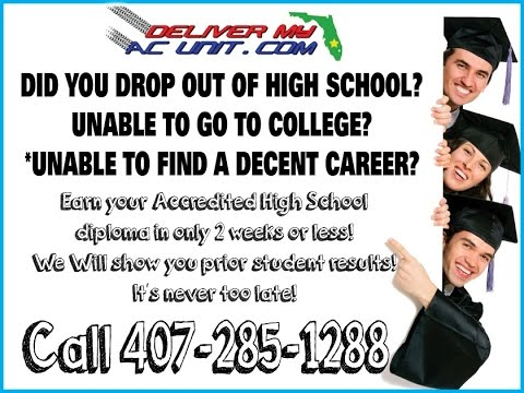 Fast Accredited High School Diploma Program in Orlando Florida!