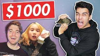 I Spent $1000 on YOUTUBER MERCH! (NOT CLICKBAIT)