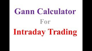 How to trade intraday using Gann Square of Nine - Pivottrading - The