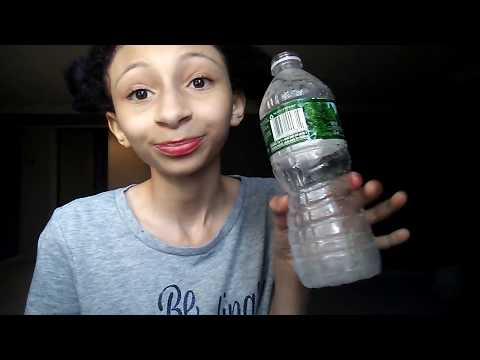 Water Bottle Challenge - How Fast Can I Drink a Bottle of Water ?