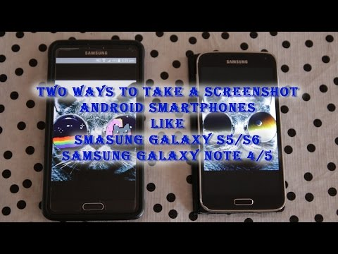 2 ways to take screenshot in Android phones(eg. Samsung,HTC,LG etc)