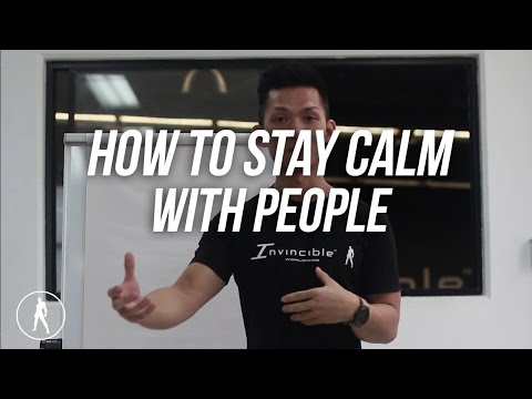 How To Stay Calm With People | ALPHA MINDSET SERIES