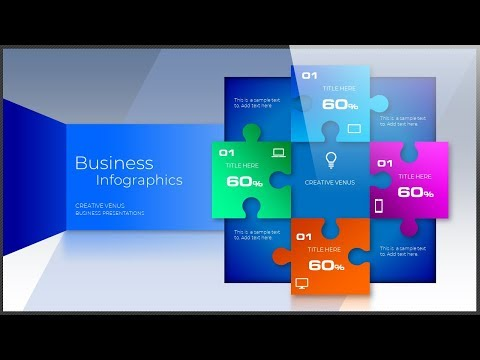 How To Create Business Infographics, Shapes, 3D Design in Microsoft Office 365 PowerPoint PPT