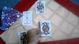 Гадание на игральных картах на него с толкованием карт