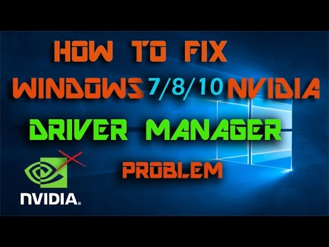 Display driver crash Solved! How to Fix windows 7/8/10 nvidia driver manager problem