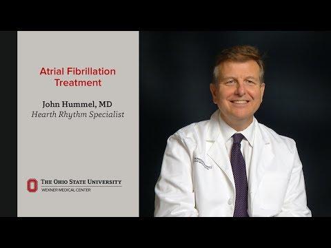 Atrial fibrillation treatment at Ohio State Medical Center