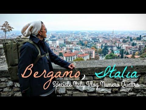 Bergamo, Italy Travel Guide   Città Alta Upper City   Italia Vlog Numero Quattro
