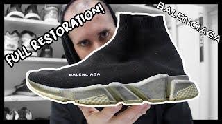 Dettagli su BALENCIAGA sneaker scarpa speed uomo calza