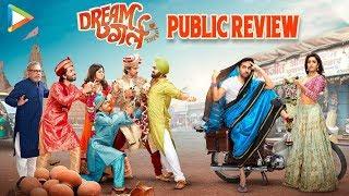 Dream Girl Public Review | Ayushmann Khurrana | Nushrat Bharucha | Annu Kapoor | Vijay Raaz | FDFS
