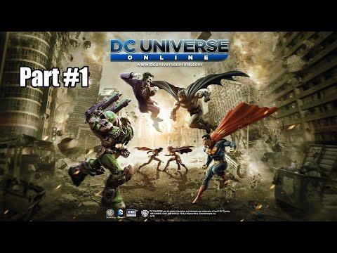 DC Universe Online Deutsch #1 Ein neuer Held erblickt das Licht der Welt
