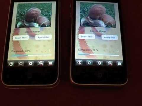 Test : iPhone 3Gs VS iPhone 3G   applicazione ArtCamera