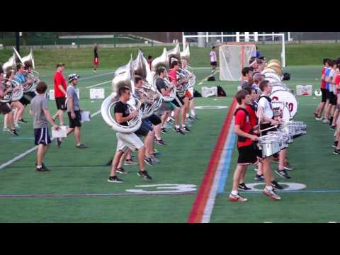 Ohio State Marching Band Summer Session 6 30 2016 Block Band Music and Marching