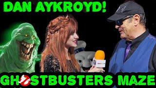 DAN AYKROYD GHOSTBUSTERS 2020 & Maze Walkthrough Halloween Horror Nights Hollywood