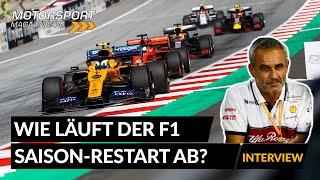 Wie läuft der Re-Start der Formel 1-Saison in Österreich ab?