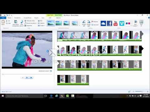 Saving Windows Movie Maker Files as MP4 2018