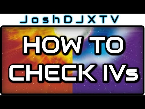 How to check IVs in Pokemon Sun and Moon Guide - IV Judge - IV Checker