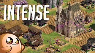 AoE2HD Gameplay: The Most Intense Ending!