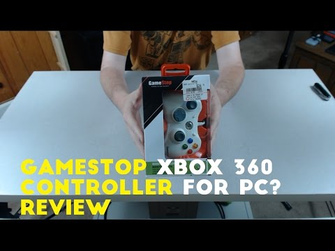 Gamestop XBox 360 Controller for PC? - Unboxing and Review
