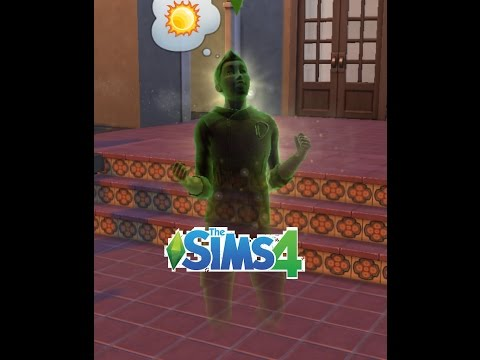 What happens when a Ghost Sim eats the Forbidden Fruit?
